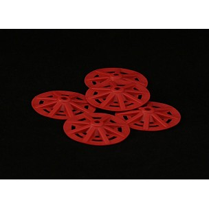710 Red Nylon Washers 48mm x500